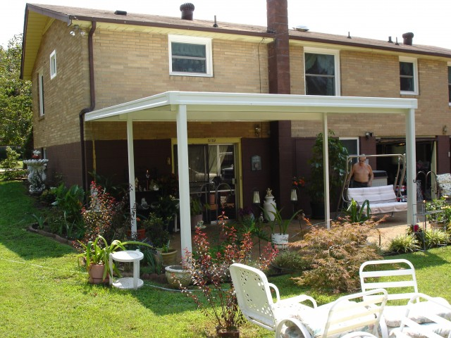 Backyard Porch Covers