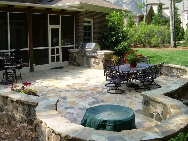 Backyard Porch Design