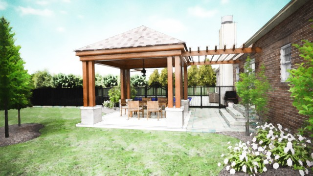 Backyard Porch Designs For Houses