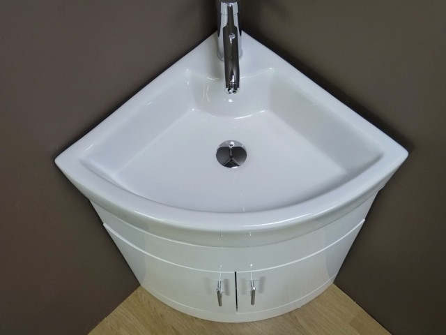 Bathroom Corner Sink Vanity Unit