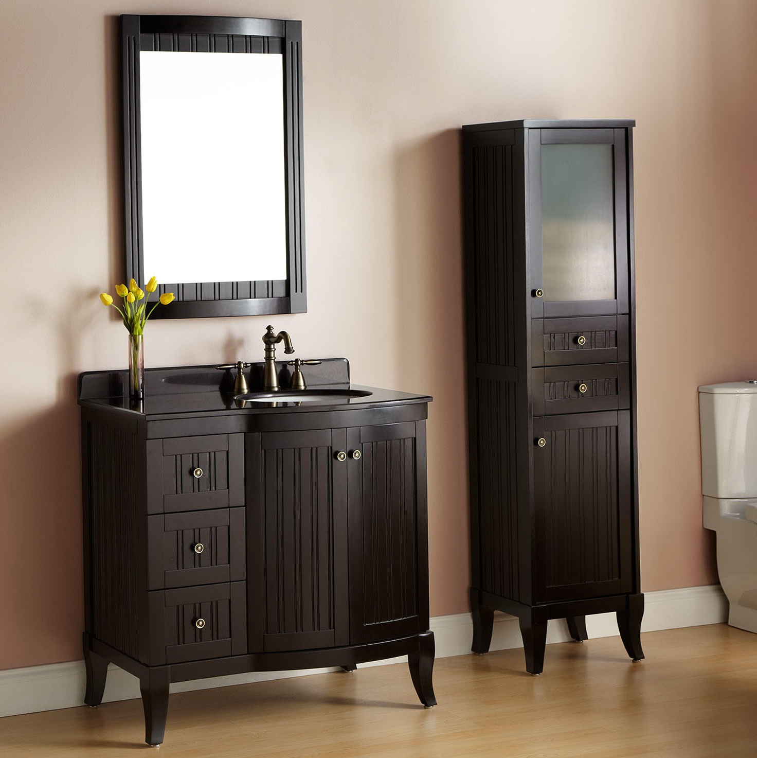 Bathroom Ideas With Espresso Vanity