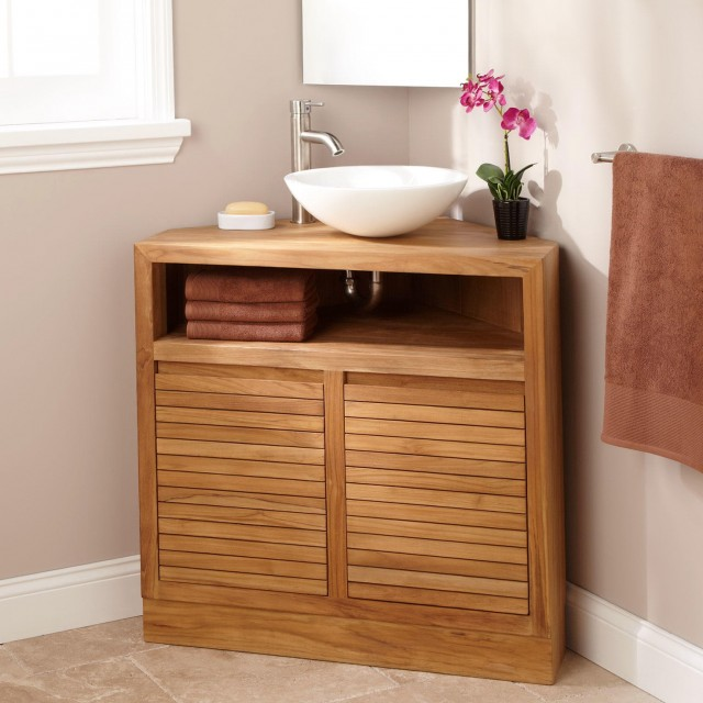 Bathroom Vanities Corner Cabinets