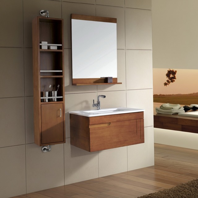 Bathroom Vanities With Side Cabinets