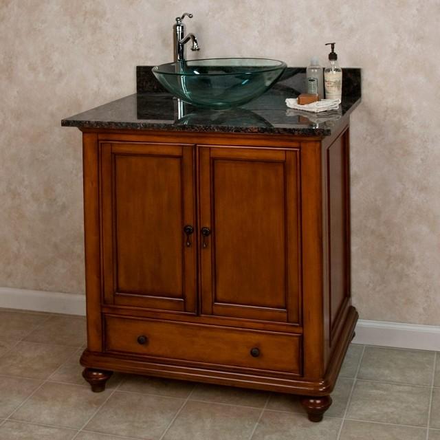 Bathroom Vanity For Vessel Sink