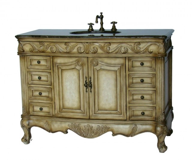Bathroom Vanity From Old Furniture