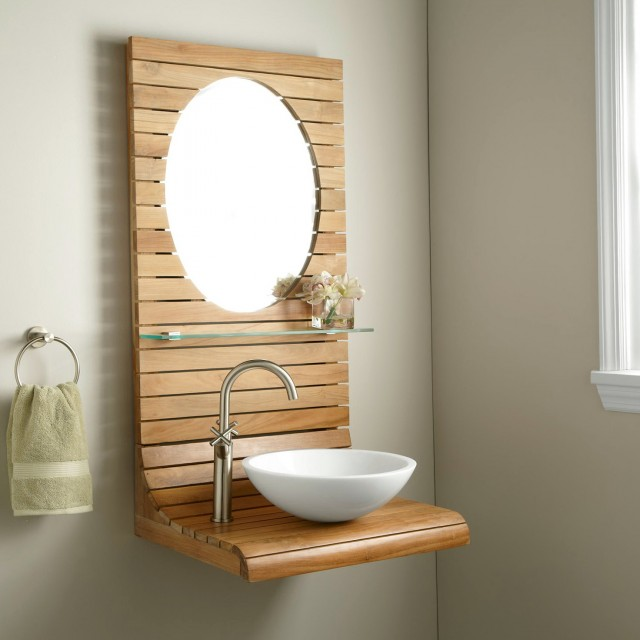 Bathroom Wall Mounted Vanities