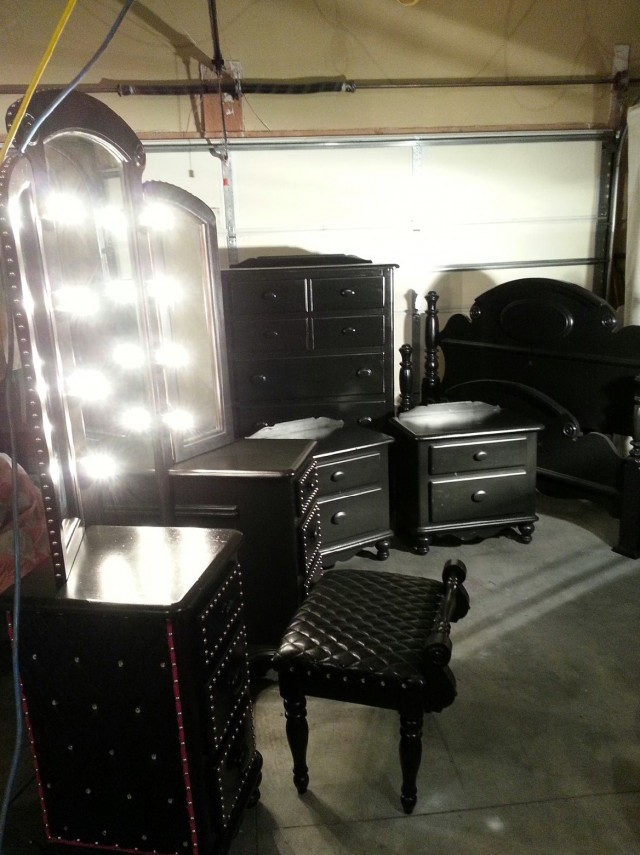 Bedroom Vanity Set With Lights