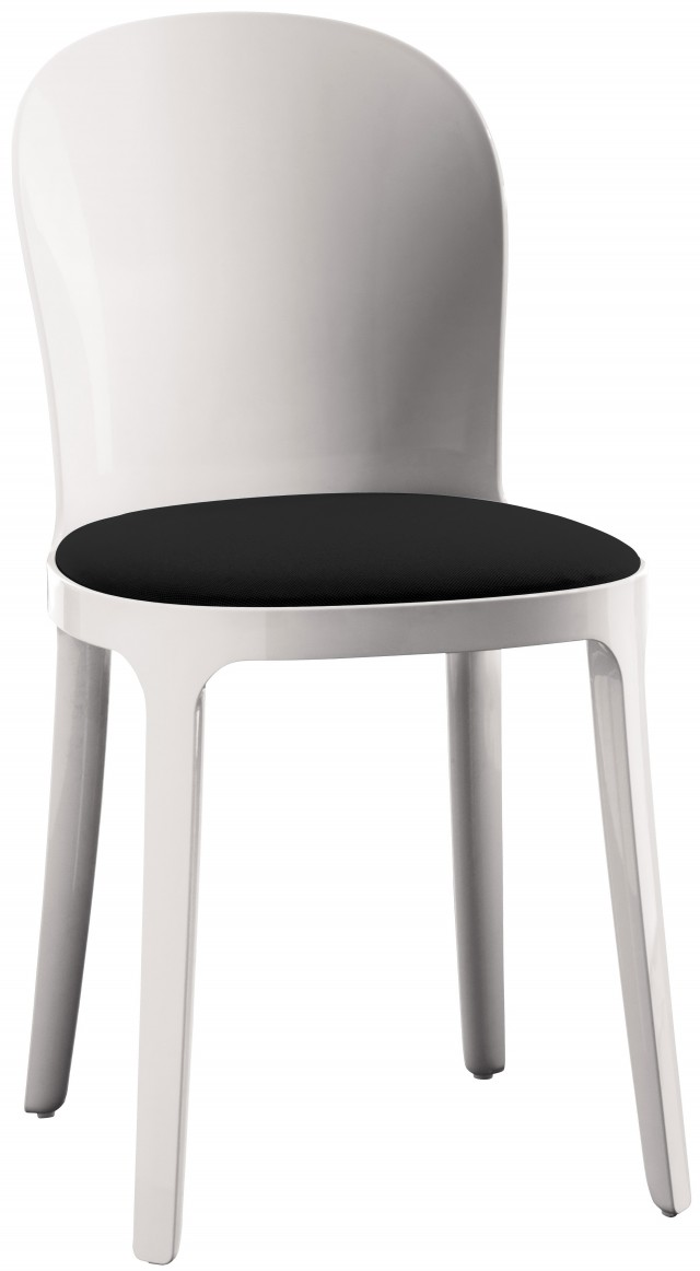 Black And White Vanity Chair