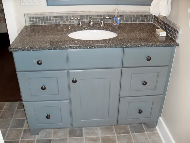 Blue Bathroom Vanity Units