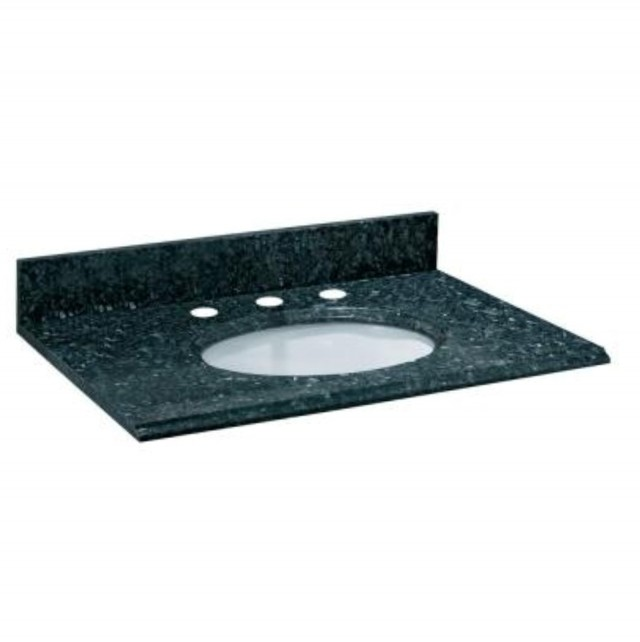Blue Pearl Granite Bathroom Vanity
