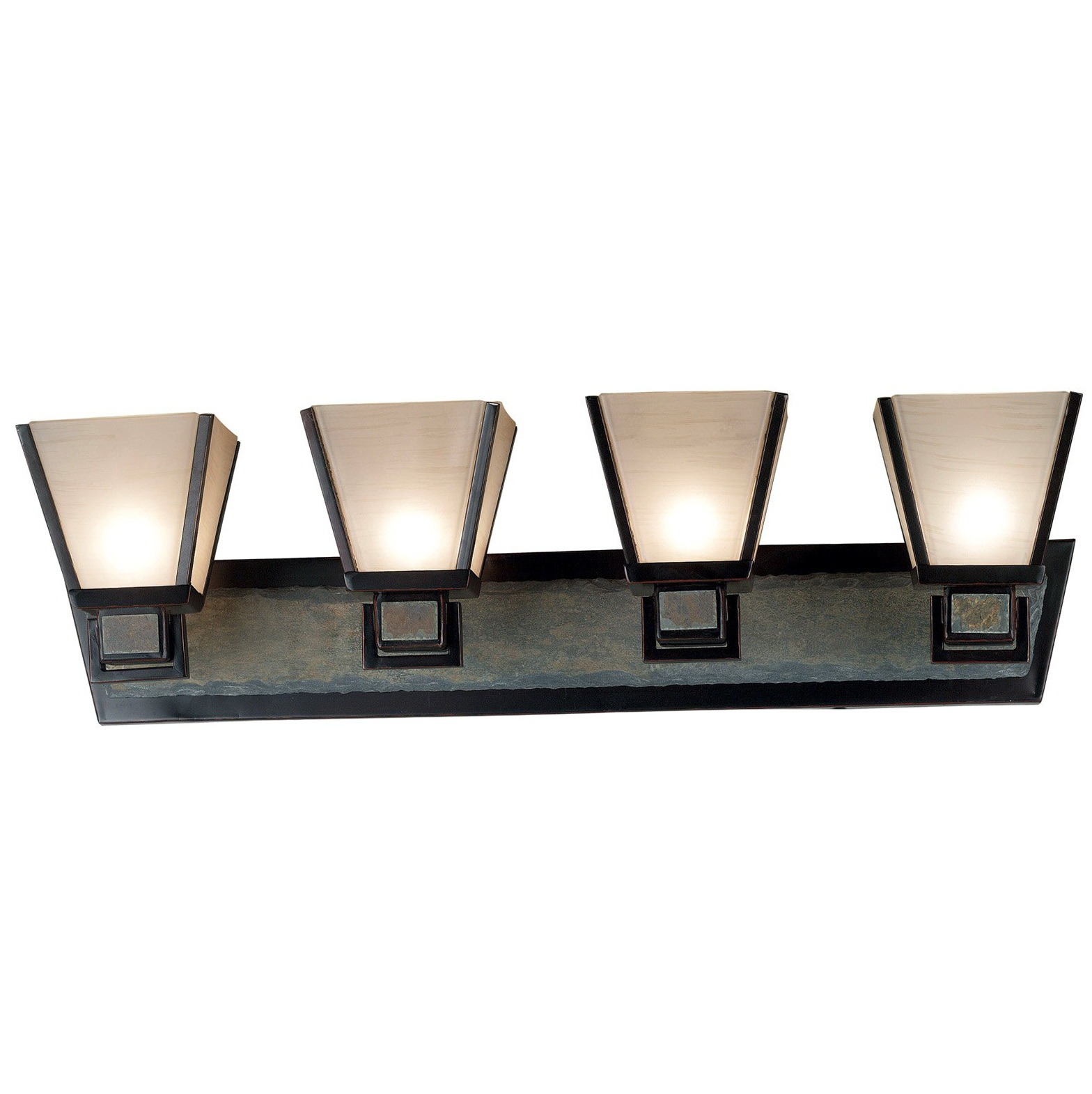 Bronze Vanity Light Bar