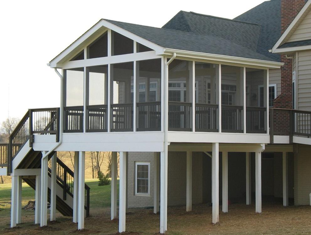 Build A Screened Porch On Existing Deck