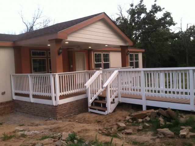 Build Front Porch Deck
