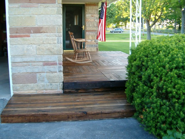 Build Front Porch Over Concrete
