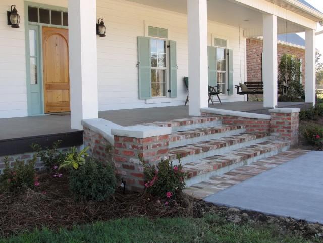 Build Front Porch Steps