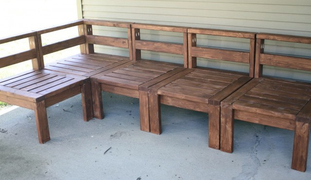 Build Your Own Porch Furniture