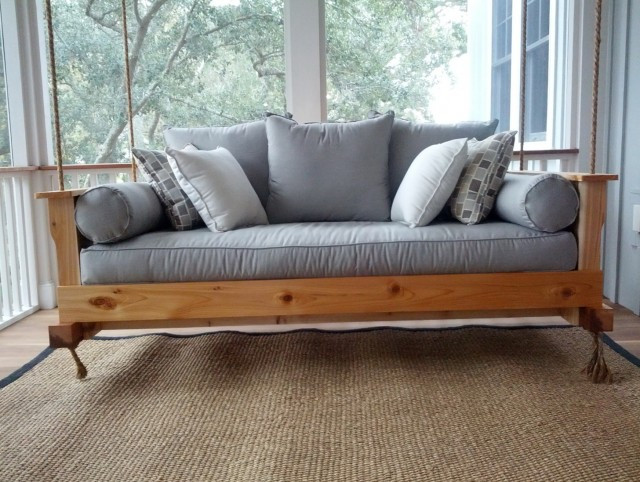 Build Your Own Porch Swing Bed