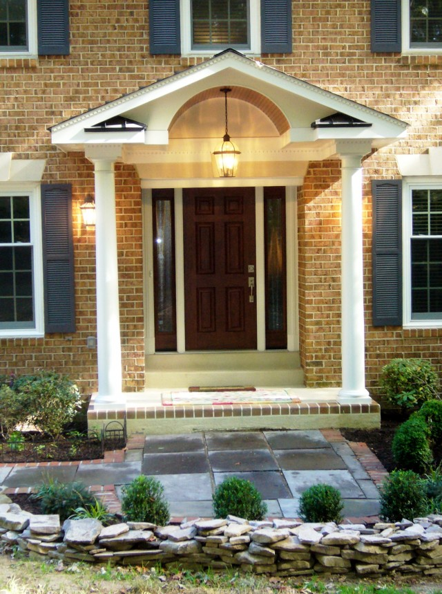 Cedar Front Porch Design