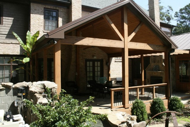 Cedar Front Porch Ideas