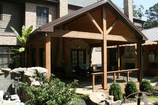 Cedar Front Porch Ideas