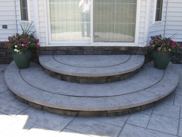 Cement Front Porch Steps