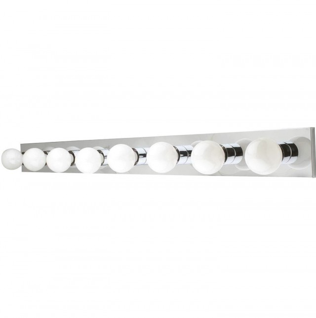 Chrome Vanity Light Bar