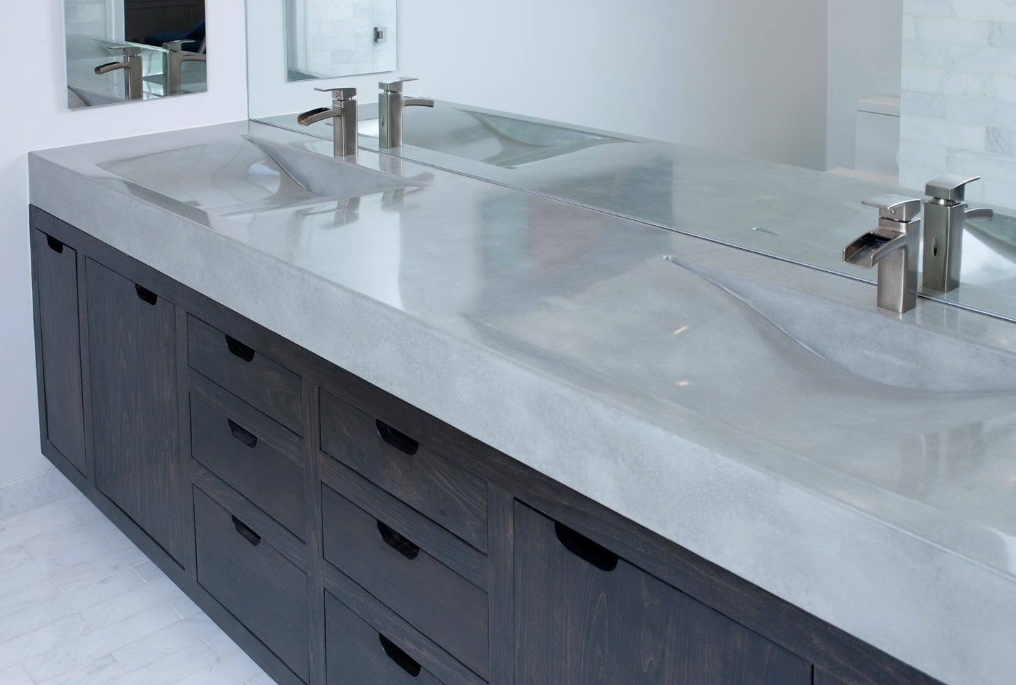 Concrete Vanity Top With Sink
