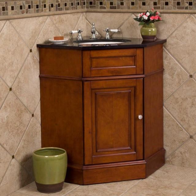 Corner Bath Vanity Cabinet