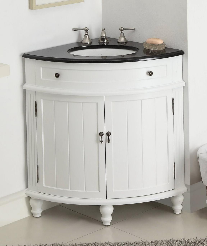Corner Bathroom Vanities And Cabinets