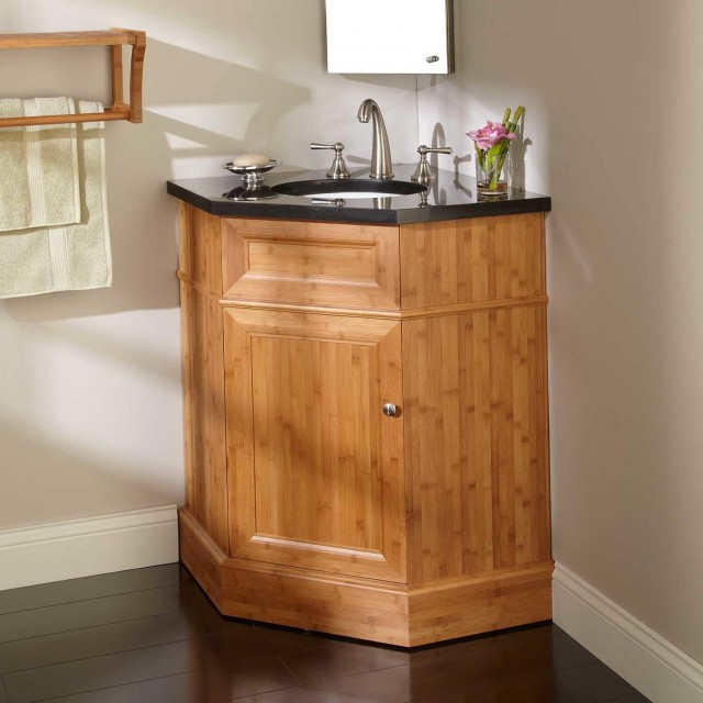 Corner Sink Vanity Bathroom