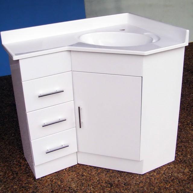Corner Sink Vanity Unit