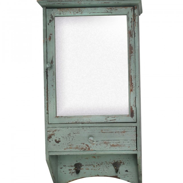Distressed Bathroom Vanity Mirror