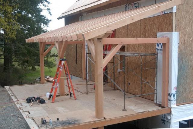 Diy Back Porch Roof