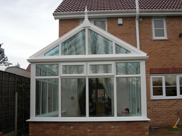 Double Gable Front Porch