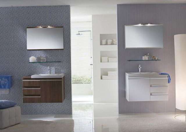 Double Vanity Small Bathroom
