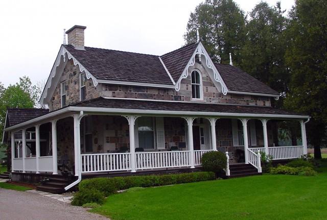 Farmhouse Wrap Around Porch Designs