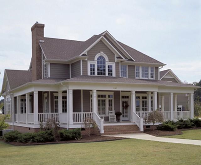 Farmhouse Wrap Around Porch House Plans