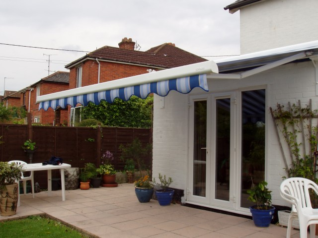Flat Roof Porch Canopy
