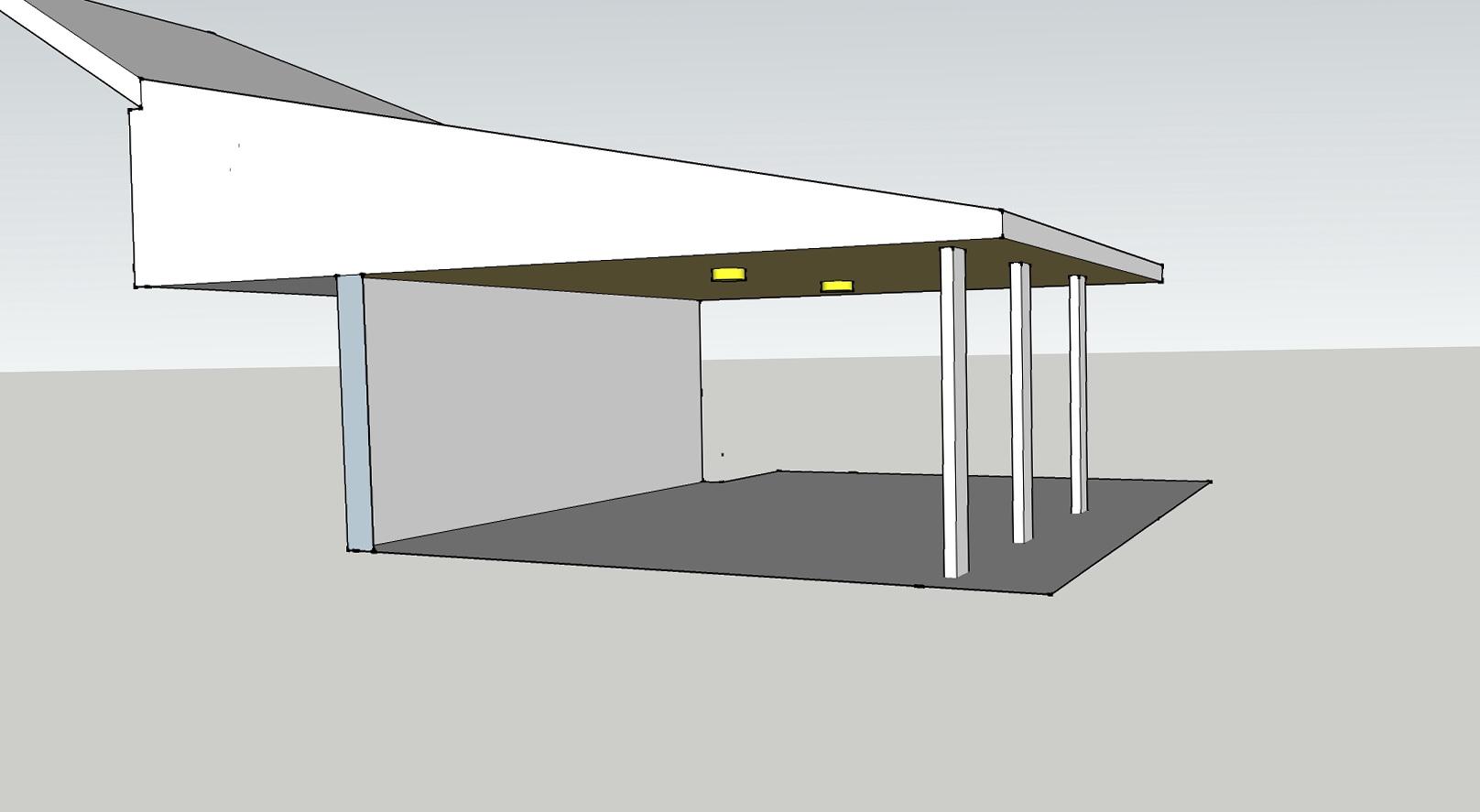 Flat Roof Porch Designs