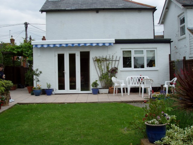 Flat Roof Porch Extension