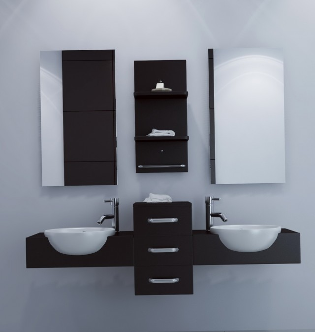 Floating Sink Vanity Cabinet