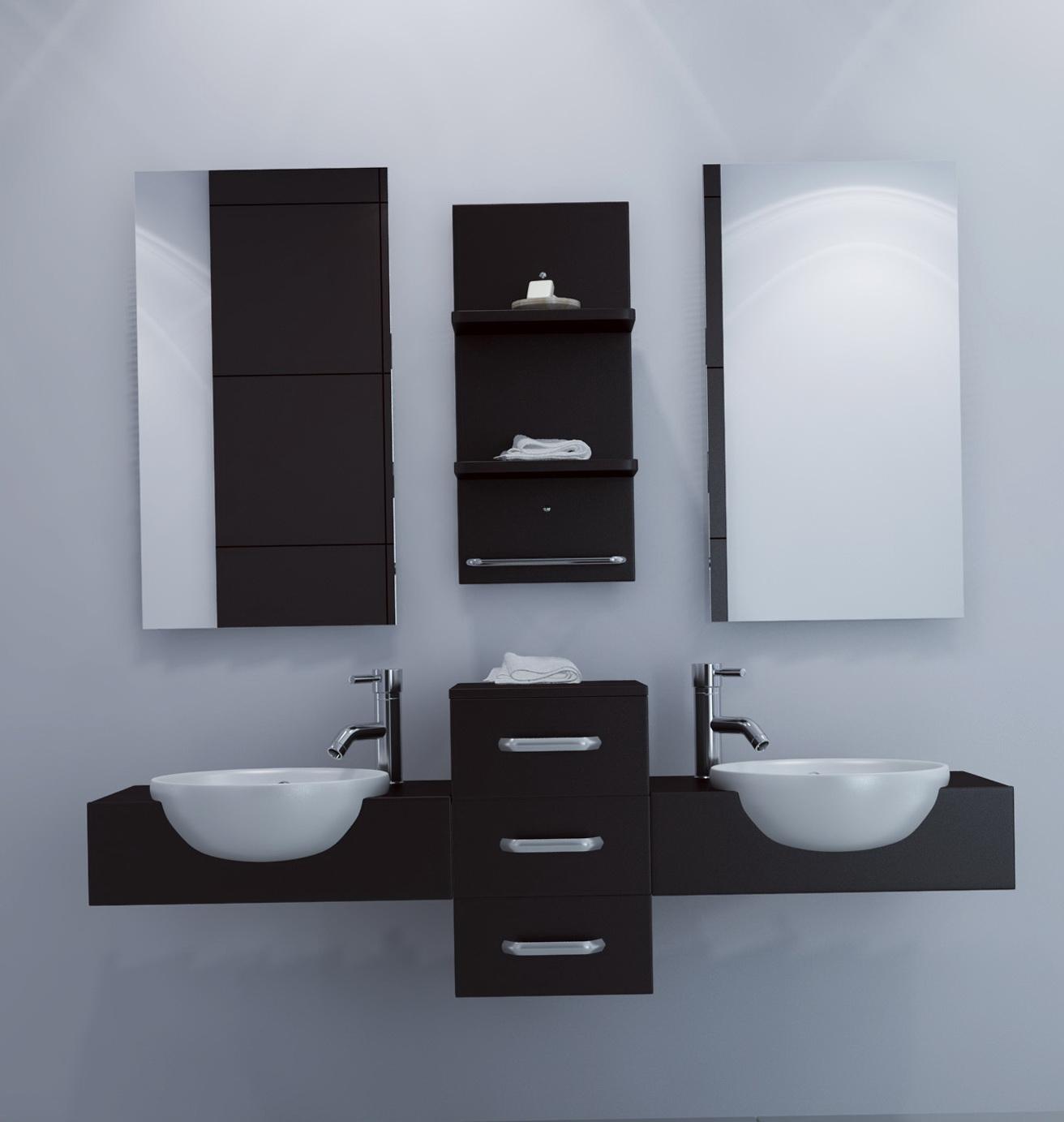 Floating Sink Vanity Cabinet