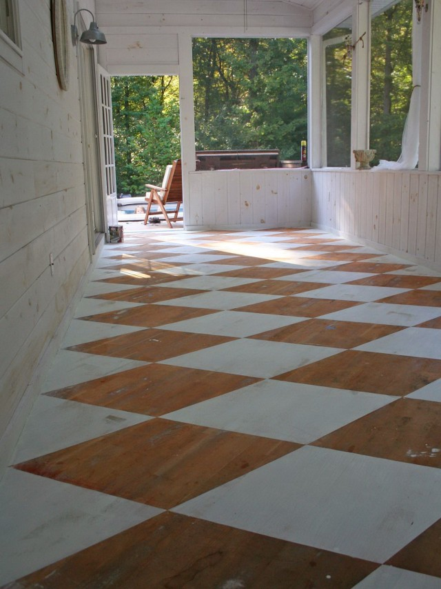 Flooring Ideas For Screened In Porches