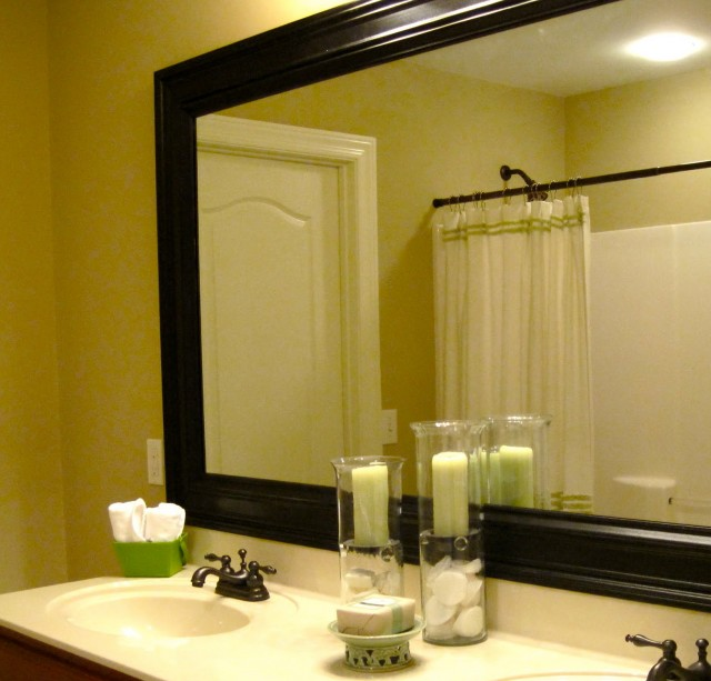 Framed Vanity Mirrors Large