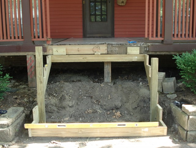 Framing A Covered Porch