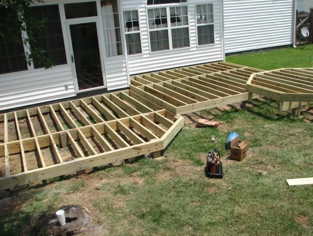 Framing A Porch Deck