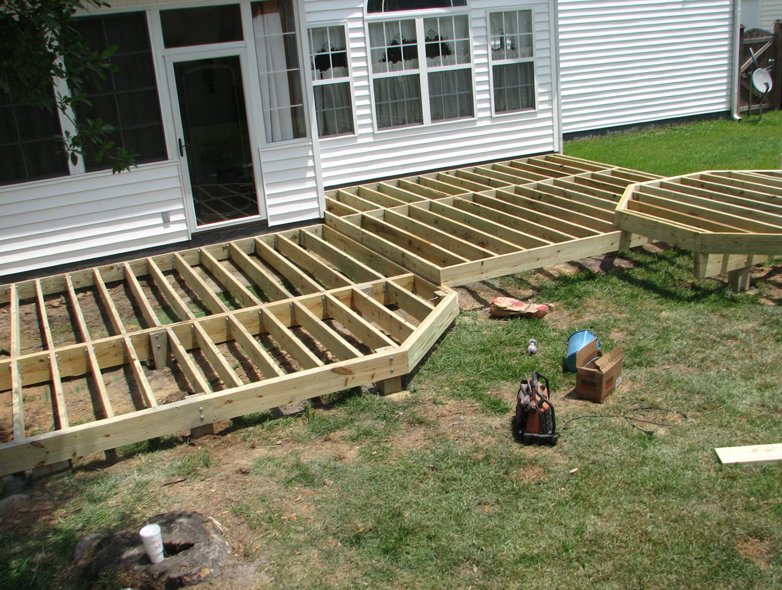 Framing A Porch Deck
