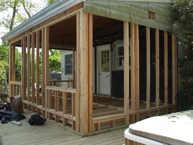 Framing A Porch Floor