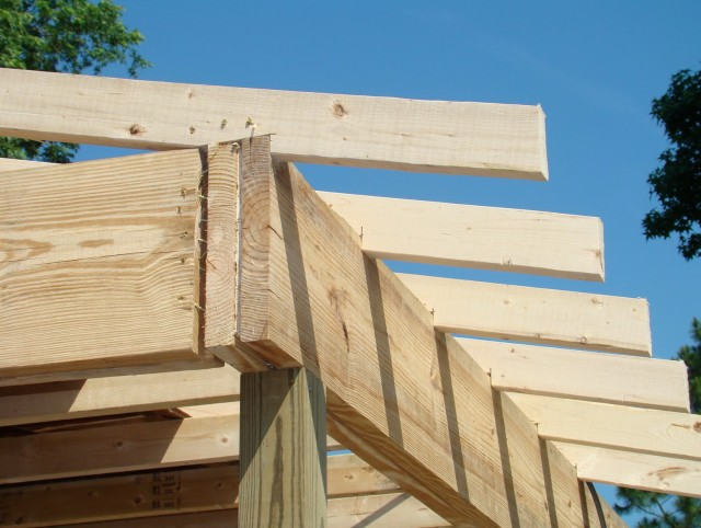 Framing A Porch Roof Gable