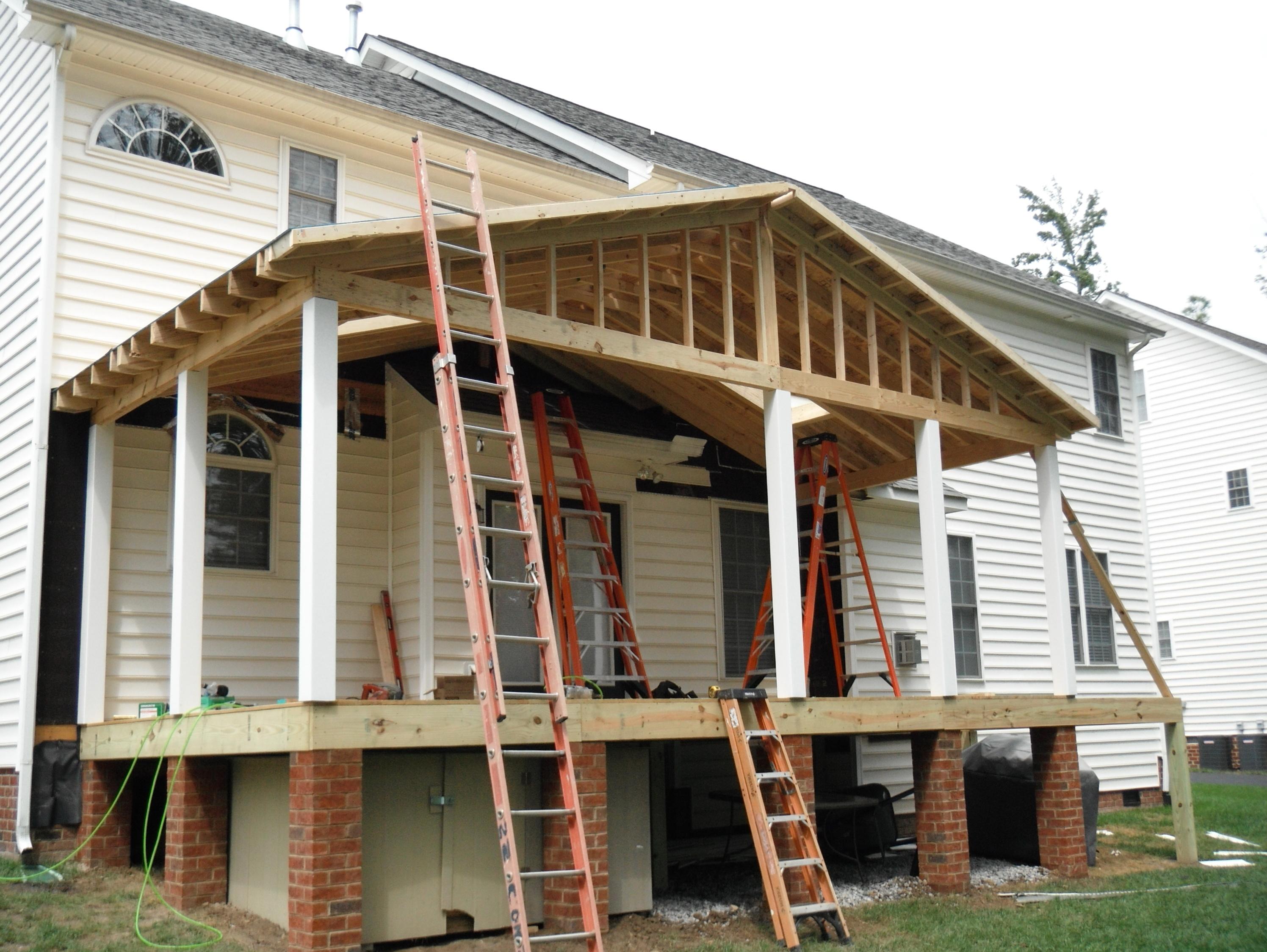 Framing A Porch Roof